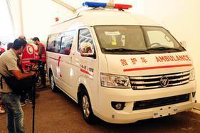 中國紅十字會向敘利亞提供醫療援助