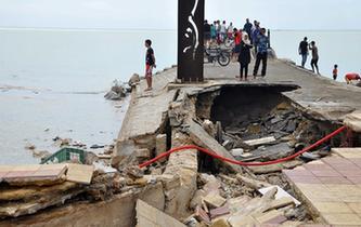 突尼斯遭遇洪水侵襲