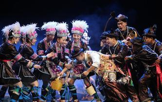 侗族音樂劇《千年大歌》在貴陽上演