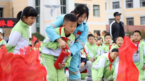 山東青島:安全體驗進校園