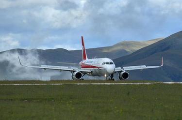 四川甘孜格薩爾機場通航