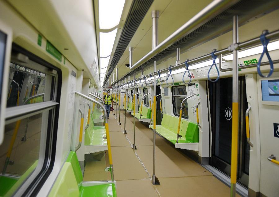 北京地鐵16號線中段、房山線北延開始試運行