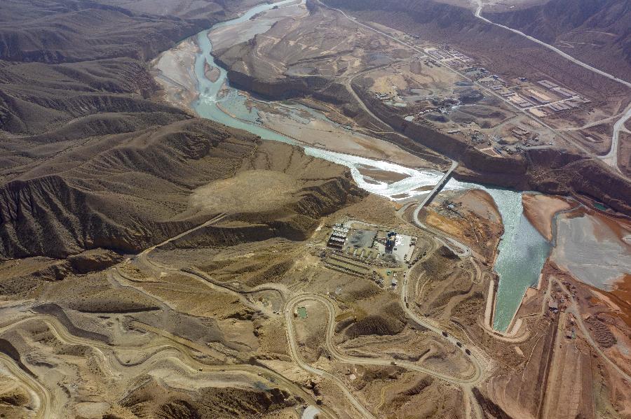 國家重大水利工程新疆大石峽水利樞紐建設有序推進