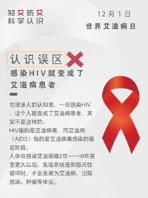 關于艾滋病,這九種説法都不靠譜