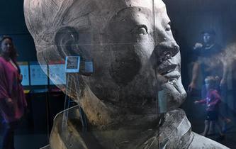 中國兵馬俑展正式向新西蘭公眾開放