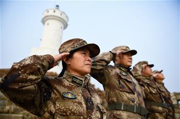 王仕花:我要在開山島繼續守下去