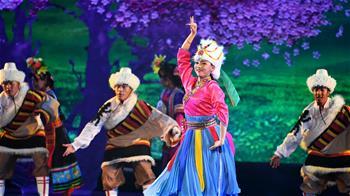 大型舞劇《盛世鍋莊》國內首演