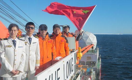 中國南極科考隊刷新海上最南科考紀錄
