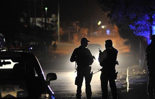 墨西哥發生街頭槍戰