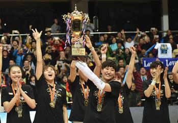 北京女籃創佳績 三奪聯賽總冠軍