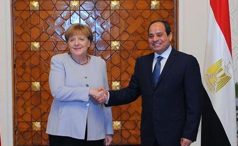 埃及與德國將在反恐及遏制非法移民等方面加強合作