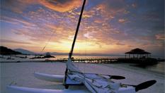 蜈支洲島 浪漫白滑沙灘