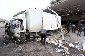 巴格達一市場遭汽車炸彈襲擊15人死亡