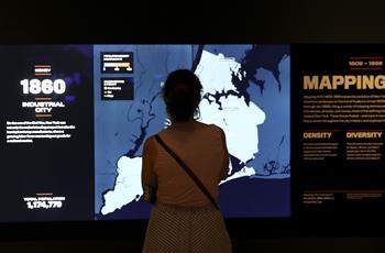 博物館裏看紐約