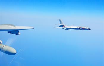 空軍多語種宣傳片《戰神繞島新航跡》向海內外發布