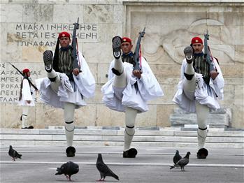 總統衛隊——雅典市中心的獨特風景