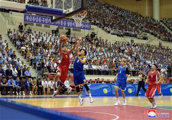 朝韓在平壤舉行籃球友誼賽