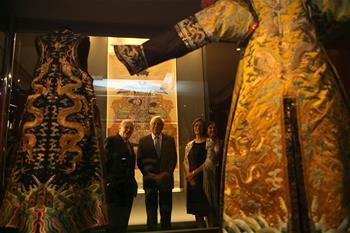中國故宮文物展在希臘舉行