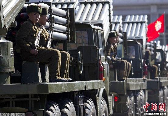 (10日凌晨发)朝鲜迎劳动党建党70周年将阅兵游行隆重庆祝(共三图,请大夜帮改为文中插图谢谢)