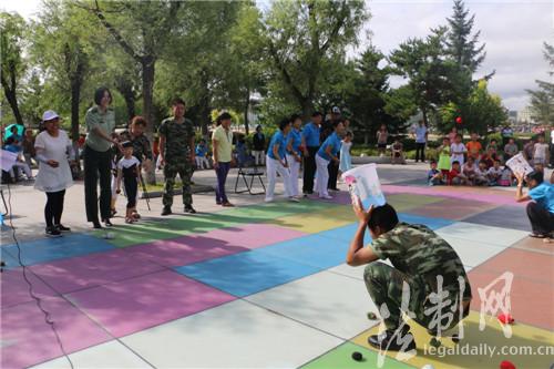 吉边检站与延边朝鲜族群众欢度老人节