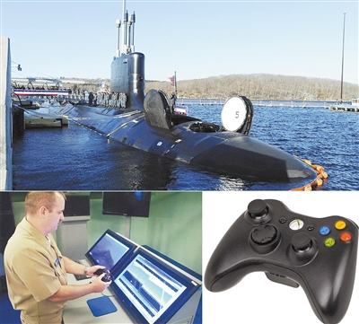 真会玩!游戏手柄操控最强核潜艇