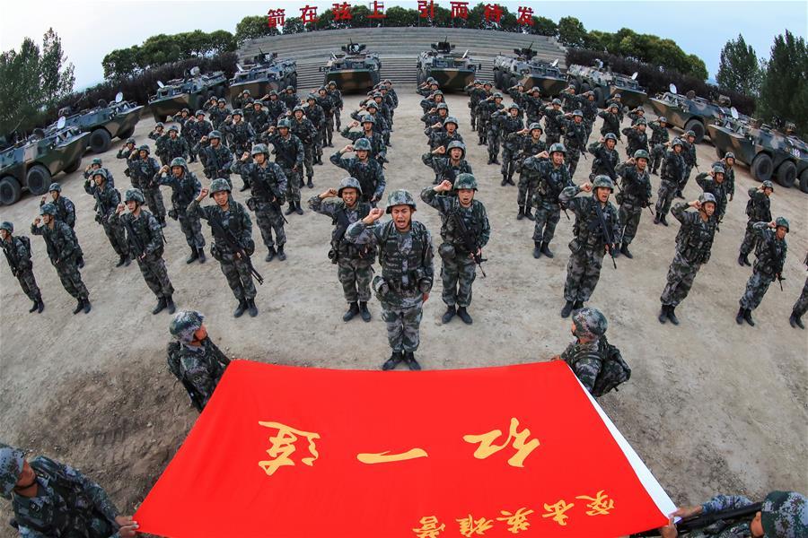 (新华全媒头条·图文互动)(10)传承红色基因 担当强军重任——献给中国人民解放军建军91周年