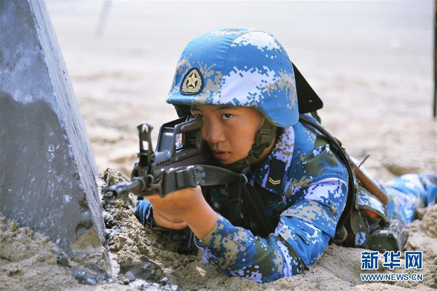 退伍军人征服女上�_(最美退役军人·图文互动)退伍女兵宋玺:从北大校园走向索马里海域