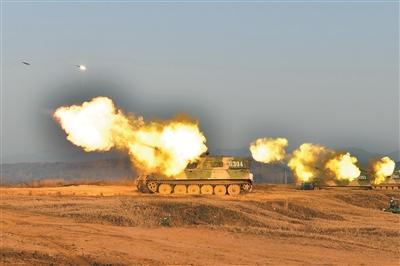 中部战区陆军组织实兵对抗演习