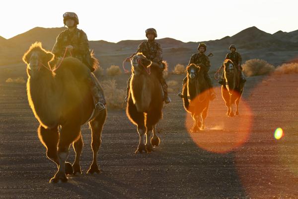 北部战区陆军某边防旅一营教导员石旭峰:甘做大漠磐石
