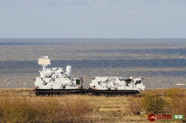 征战北极!俄最新版道尔防空系统举行实弹操练