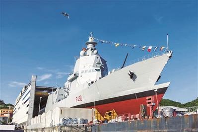 意大利新型巡逻舰下水