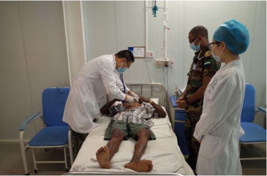 解放军第三批援塞军事医学专家组圆满完成任务回国