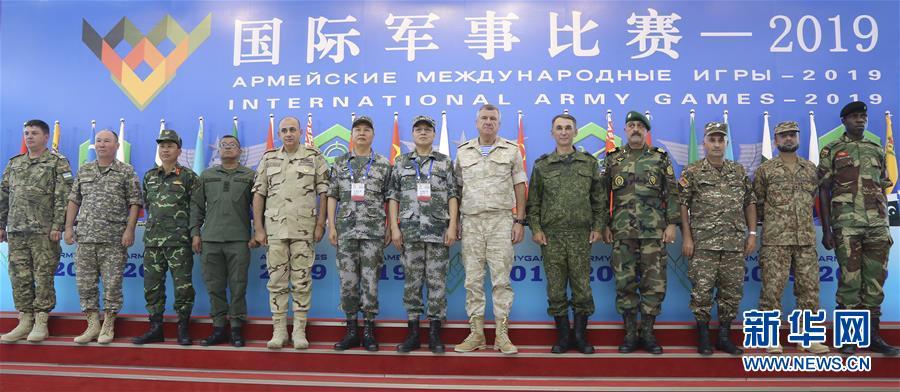 """中国陆军就承办""""国际军事比赛-2019""""举行新闻发布会"""