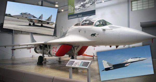 艾伦的米格-29属于训练用双座型战斗机邮品汇