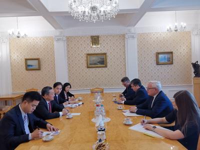 中俄舉行新一輪軍控與防擴散磋商