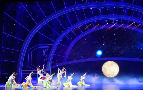 音乐舞蹈情景剧《问天》在北京首演