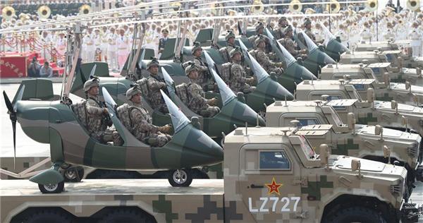 高清大图丨特战装备方队