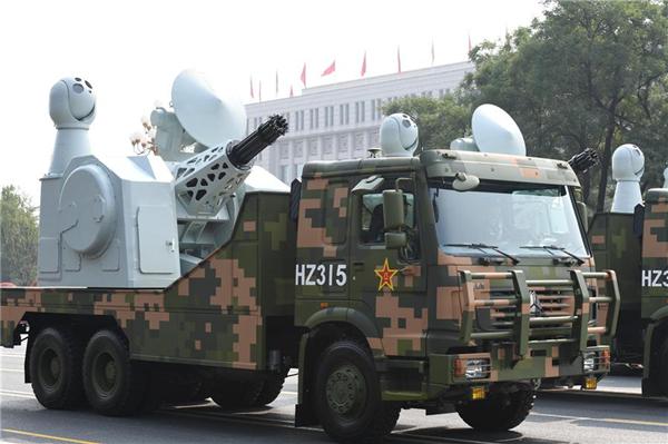 高清大图丨舰载防空武器方队