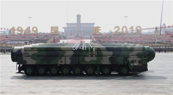 高清大图丨东风-41核导弹方队