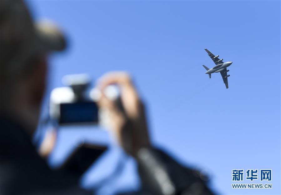 (軍事)(3)殲-20、運-20首次在東北地區進行飛行展示