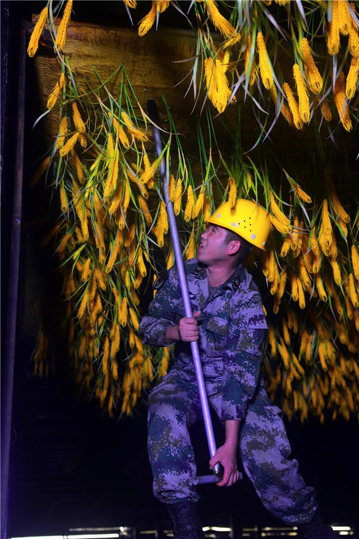 记参加军运会开幕式文艺表演的中部战区陆军某舟桥旅官兵