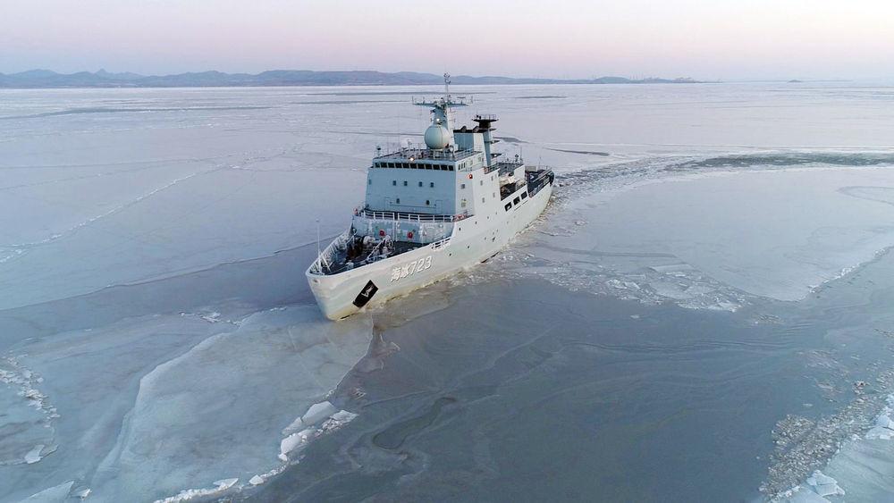 新春走基层丨亲历海军海冰723船执行黄渤海海冰调查任务