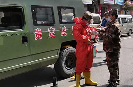 民兵走上抗疫战场守护群众的第一线农村十大暴利行业