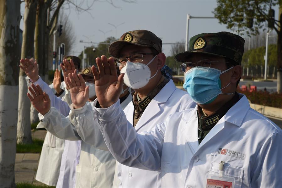 (聚焦疫情防控·图文互动)(3)一名百岁新冠肺炎患者治愈出院