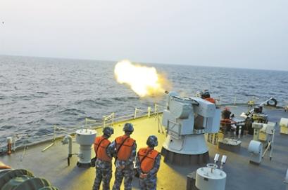 「扫雷」北部战区海军某扫雷舰大队组织实战化演练