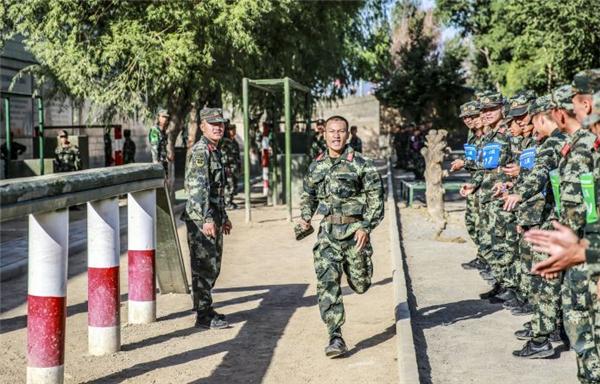 武警甘肃总队酒泉支队开展2020年度军事体育运动会