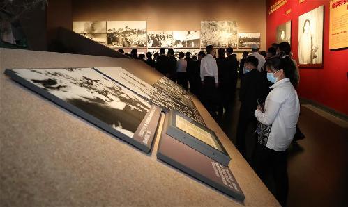 (新華全媒頭條·圖文互動)(10)祖國·正義·和平——抗美援朝紀念館巡禮