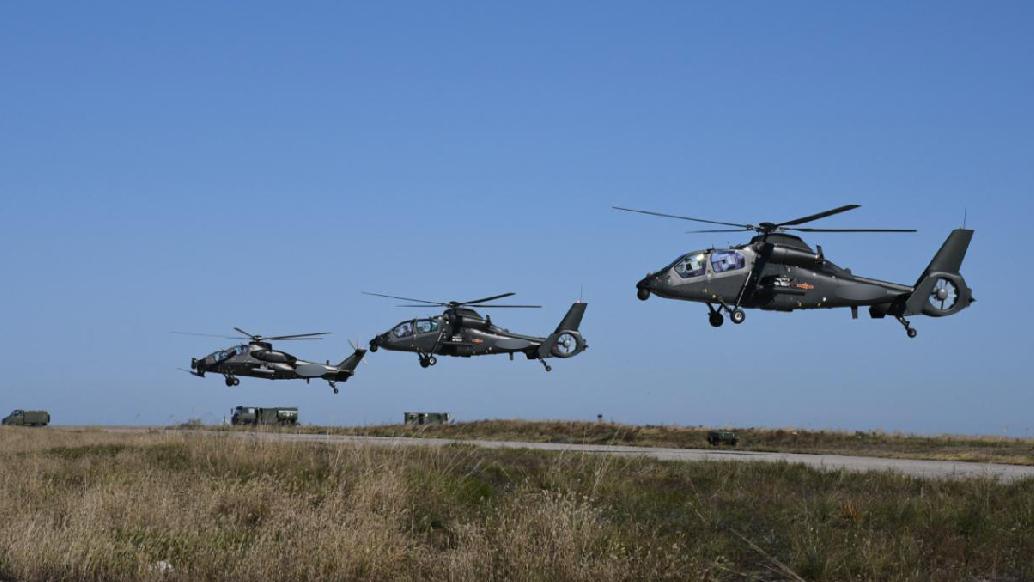 陆军某试验训练区首次完成跨域实弹射击试训任务