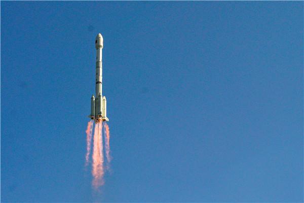 我国成功发射高分十四号卫星