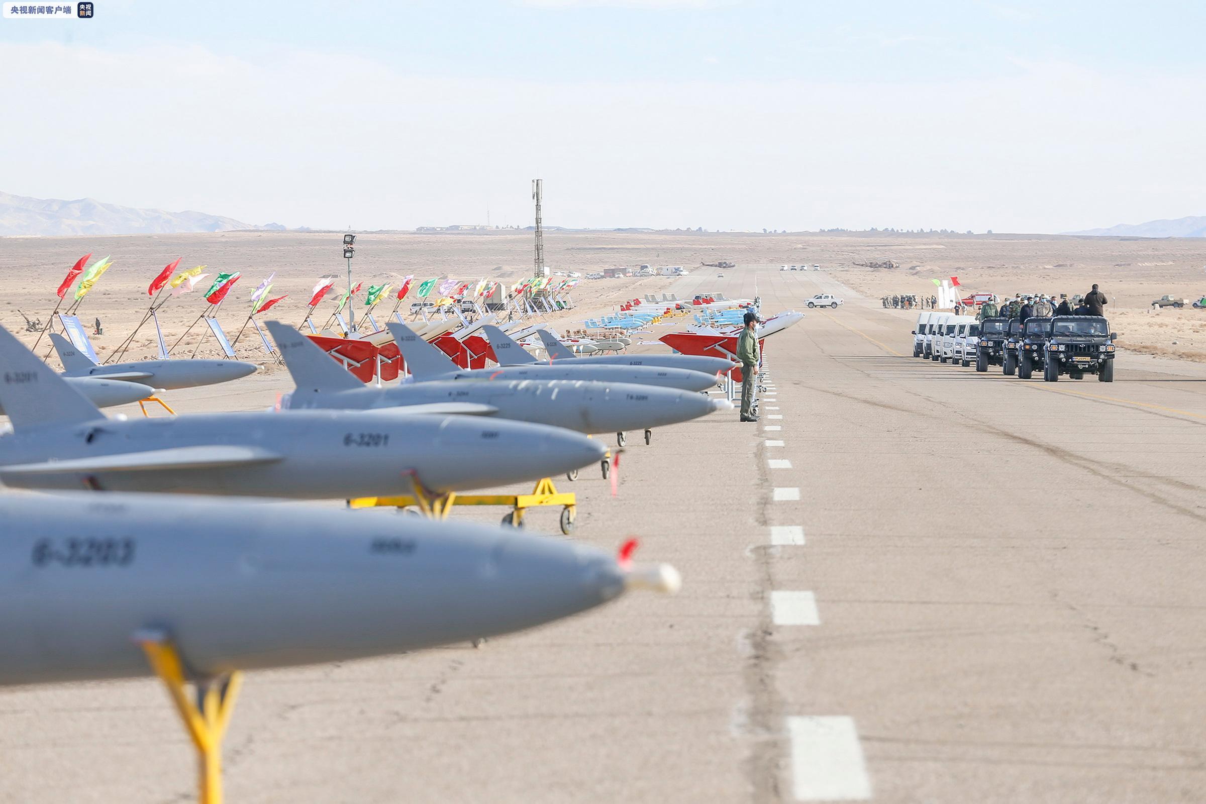 軍情快訊:伊朗軍隊舉行大型聯合無人機軍事演習